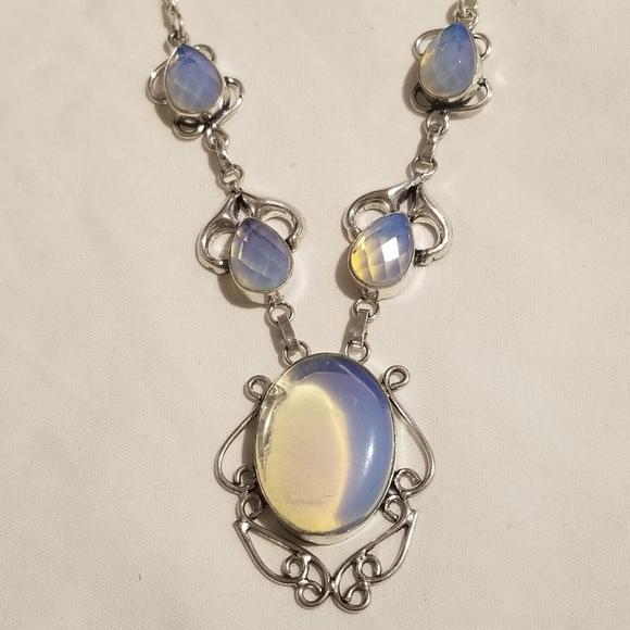 925 twisted teardrop Vintage Sterling silver handmade pendant stamped 925